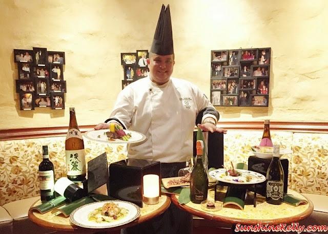 Italian & Japanese culinary affair, Vila Danieli, Sheraton Imperial KL, Frescobaldi wine, Japanese Sake, Chef Kamaruddin,