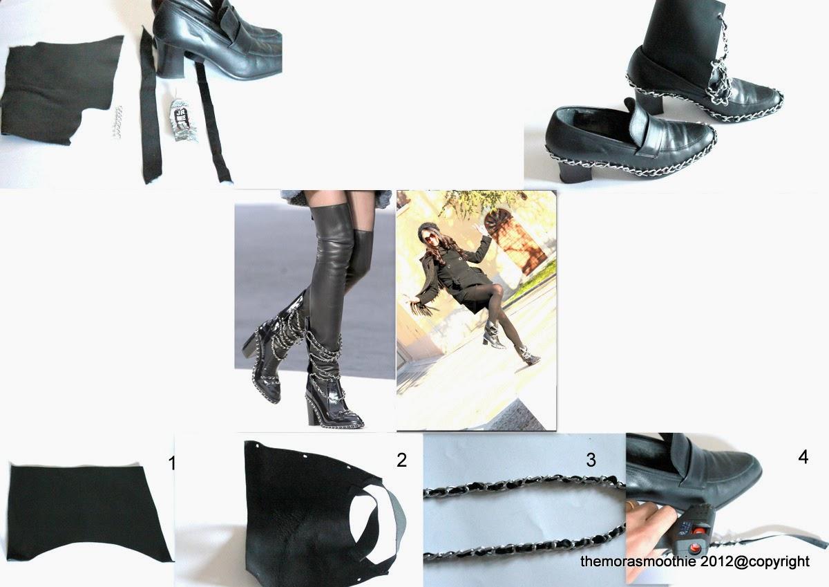 diy fashion, diy blog, diy blogger, diy shoes, diy chanel, chanel, tutorial shoes, craft, crafts