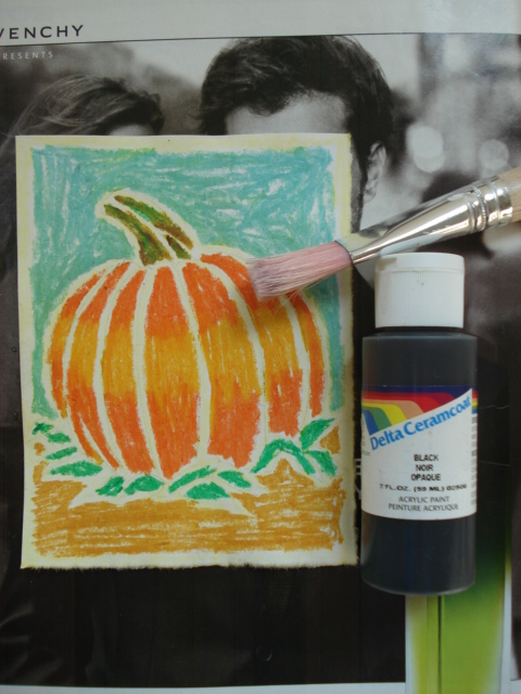 Using Oil Pastels Over Oil Paint