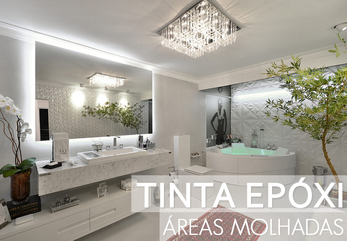 Tinta epóxi em banheiros e cozinhas saiba mais sobre esse produto  #505A2F 1200x836 Azulejo Fosco Banheiro