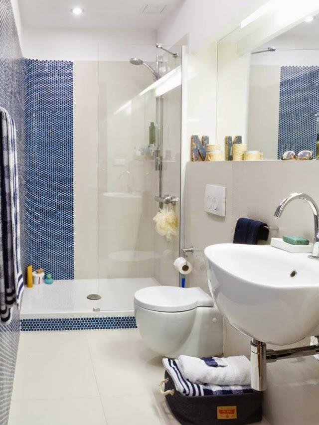 Baños Ninos Pequenos:En un cuarto de baño pequeño los sanitarios deben ser de diseño