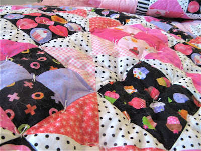 Quilt made from Little Lady fabric by Holly Holderman of Lakehouse Dry Goods
