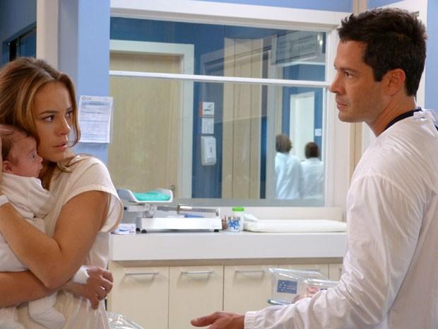 Amor à vida': Bruno saberá que Paloma pode ser a mãe de Paulinha.