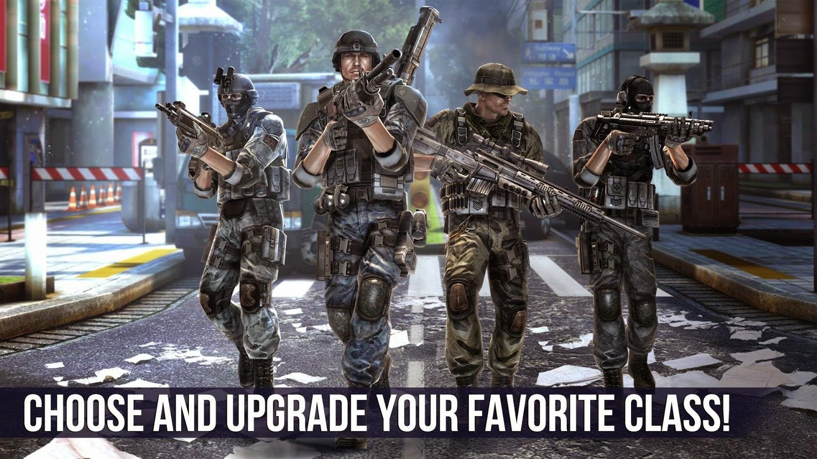 لعبة الاكشن المنتظرة Modern Combat 5 Blackout مدفوعة للاندرويد