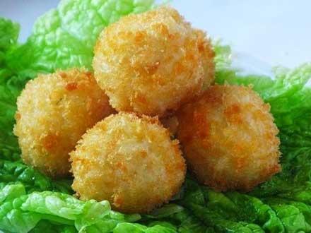 Как готовить шарики из куриного фарша в рисе