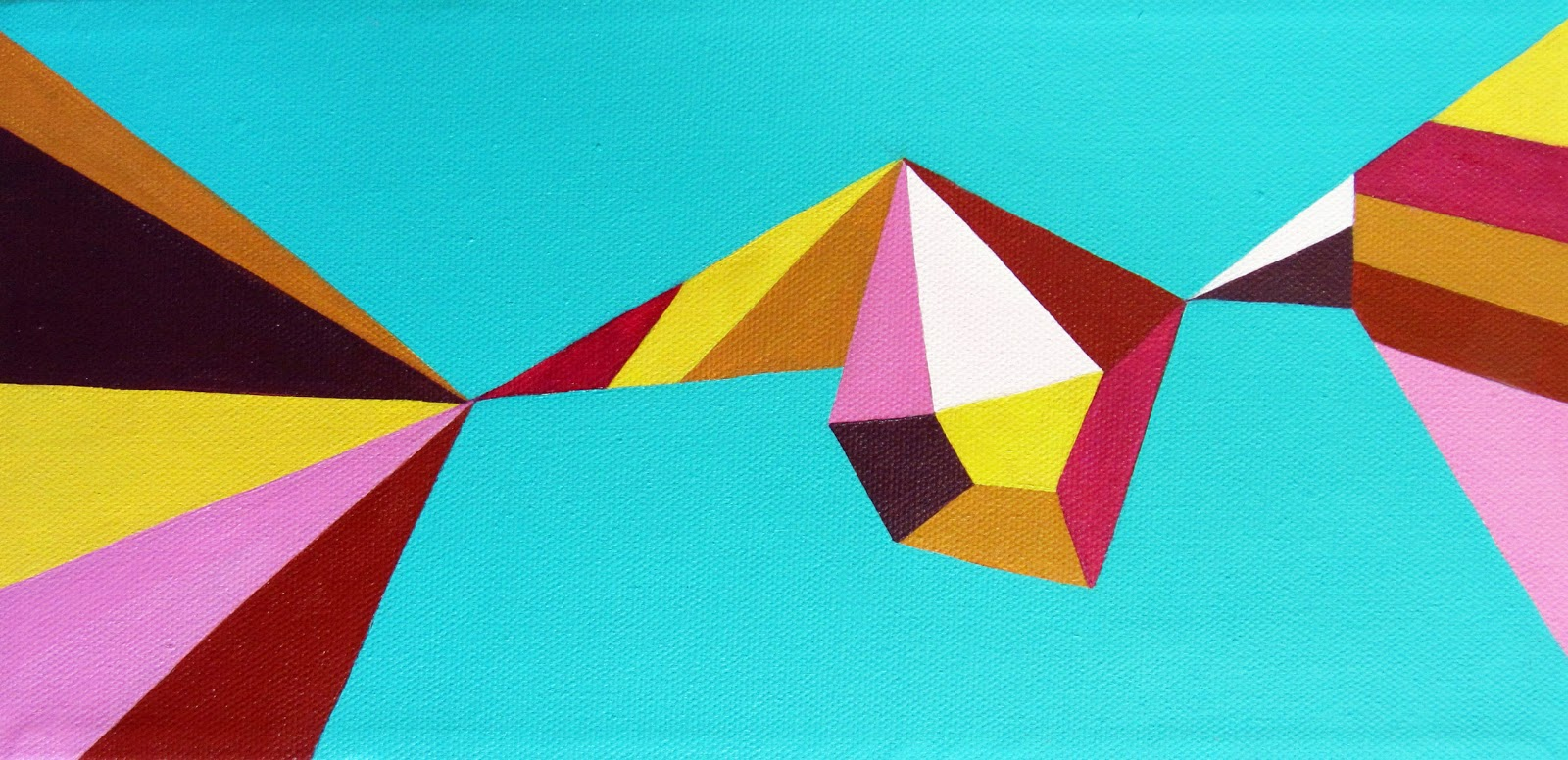 Geometric Painting. Dazzling Geometric Walls For The Modern Home ...