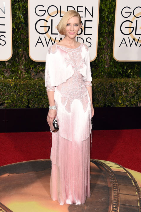 Golden Globes Cate Blanchett Givenchy