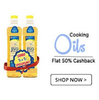 Buy Jivo Canola Refined Edible Cooking Oil upto 19% Off & Extra 50% Cashback:BUytoearn