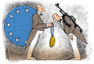 Οι σκοπιμότητες του Νόμπελ Ειρήνης της ΕΕ. Του Γιώργου Δελαστίκ