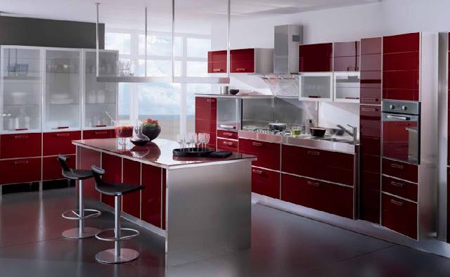 Cocinas integrales decoradas modernas