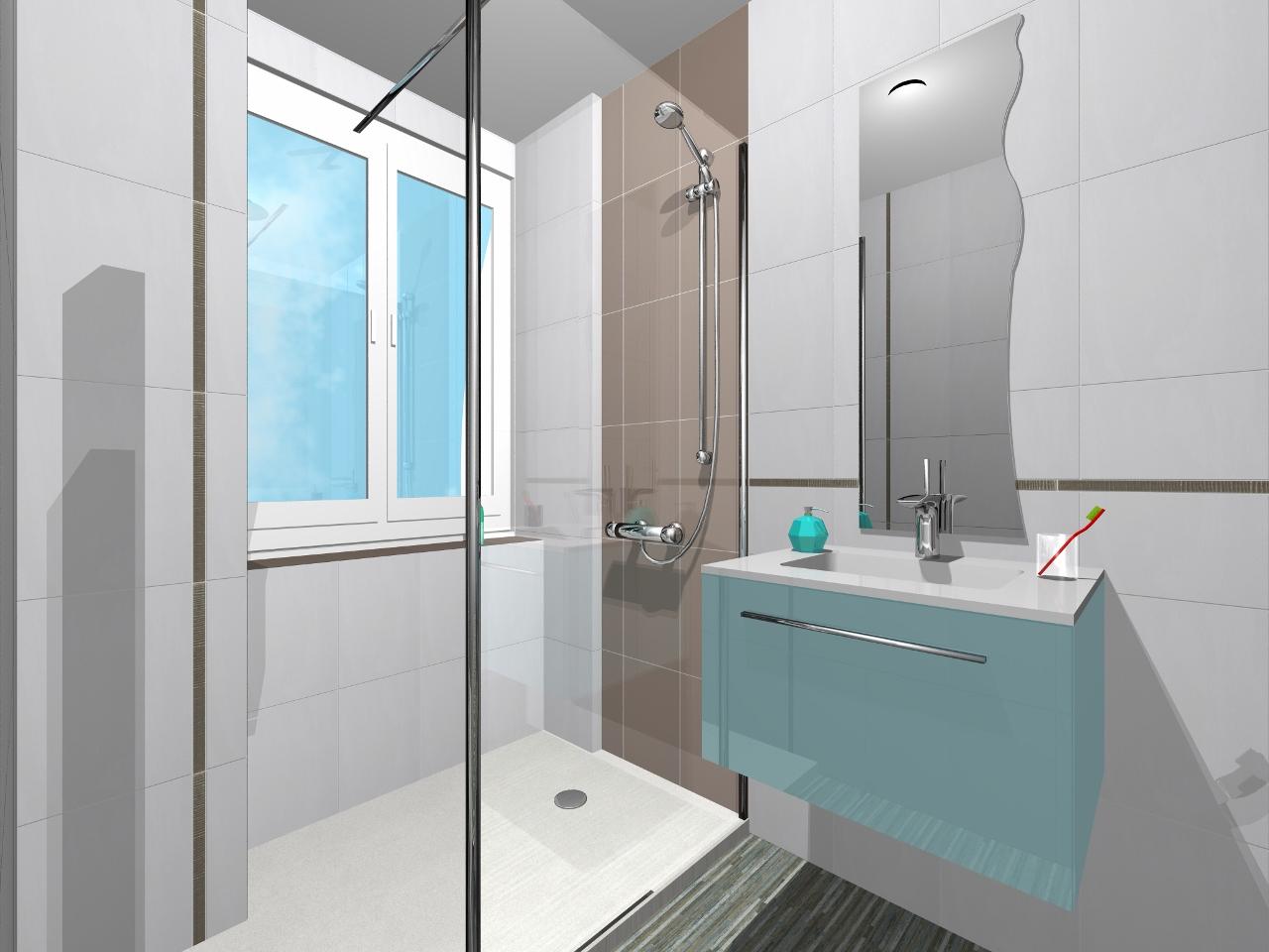 Espace bain agencement de salles de bain la troisi me for Agencement salle de bain