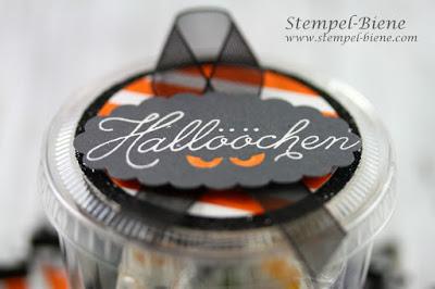Halloweengoodies, Halloweengeschenke Kinder, Halloweendeko, Stempel-Biene, stampinup bestellen