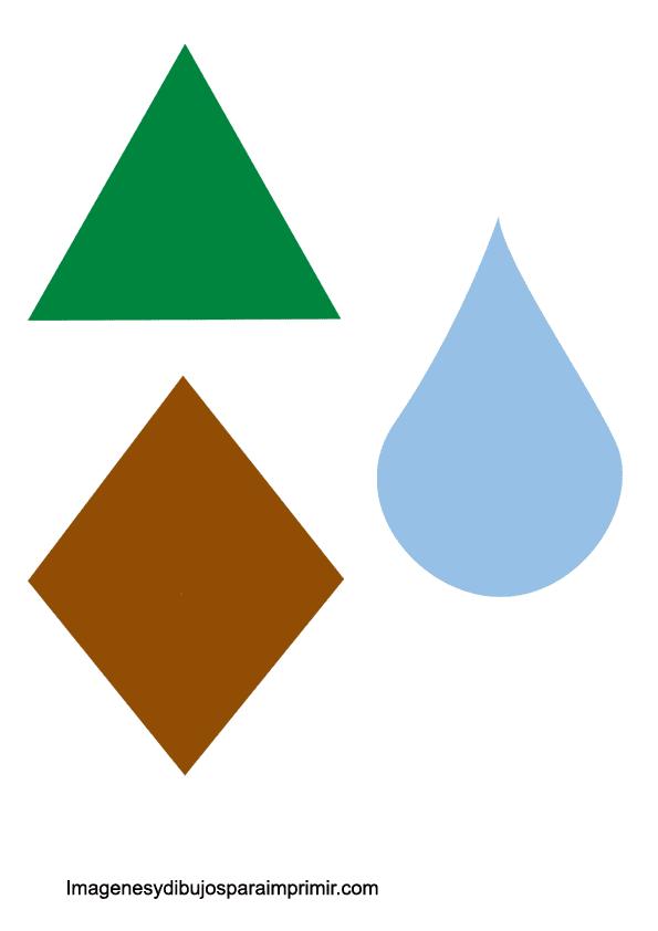triangulo, rombo
