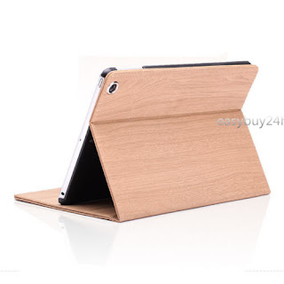 Luxury Wood grain Slim Smart Case Stand Cover for Apple iPad2 3 4 Air Air2 mini