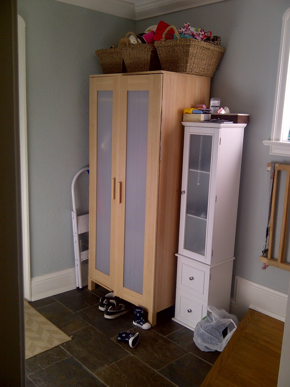 Ikea Aneboda One Door Wardrobe ~ Don T Judge This House By Its Front Entrance