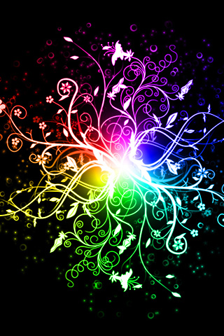 Rainbow Iphone Wallpaper on Iphone Rainbow Wallpaper Download