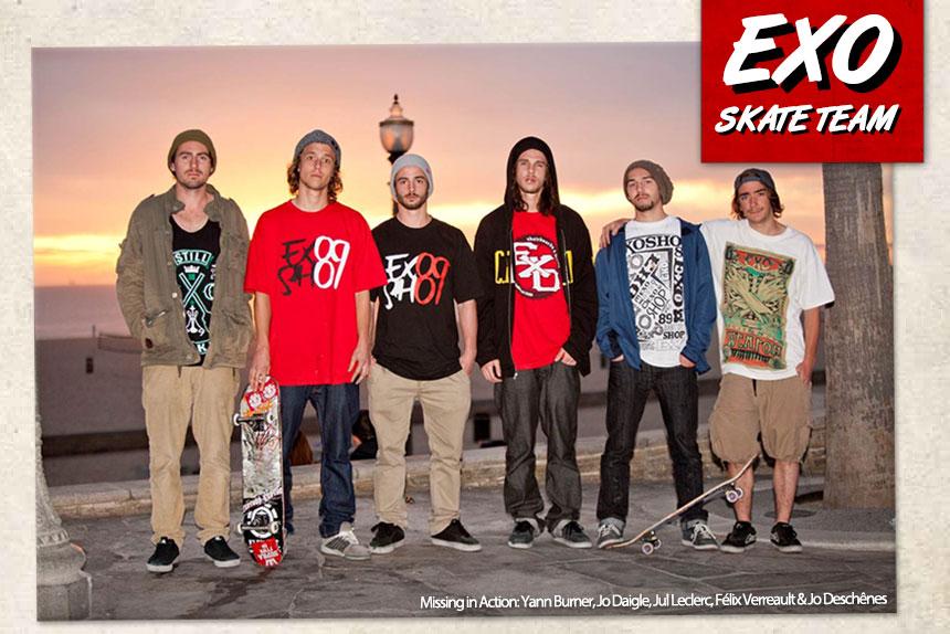 Le skatepark EXO