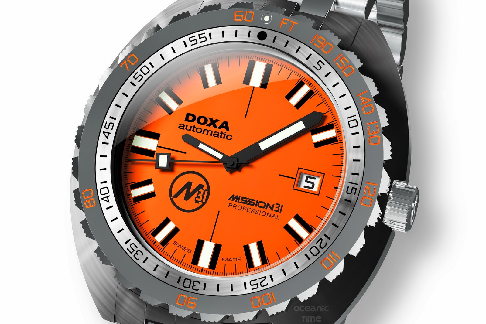 oceanictime doxa mission 31 sub professional on a mission
