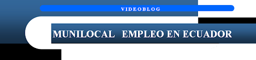 ECUADOR: 4 OFERTAS, EMPLEO, MUNICIPIO, CANTON, SANTO DOMINGO, IBARRA, ESMERALDAS,