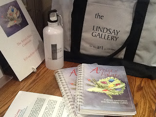 image Lindsay Art Gallery Gifts - Water bottle, Tote,Cook book support Kawartha Lakes Arts