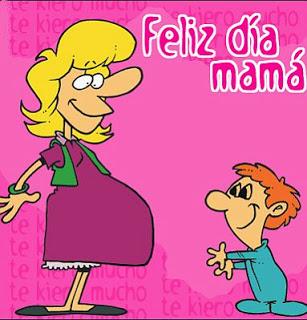 Tarjeta para mamá embarazada