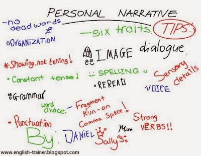 Personal Narrative Essay Outline Example
