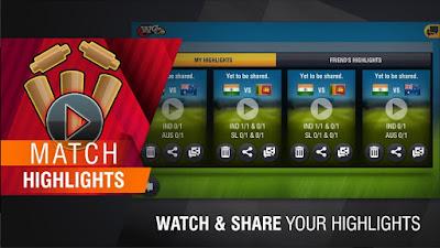 Free Download World Cricket Championship 2 MOD APK v2.7.5 Latest Version Unlimited Coins Money 2018