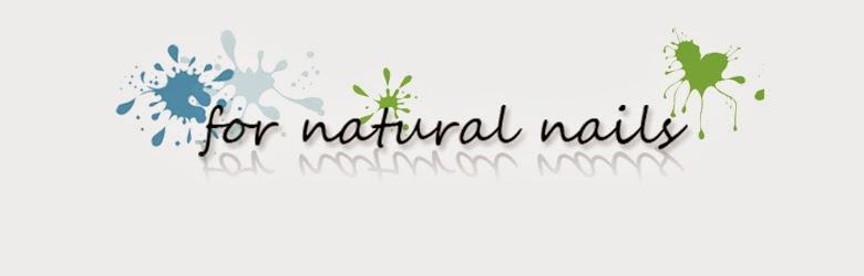 For natural nails