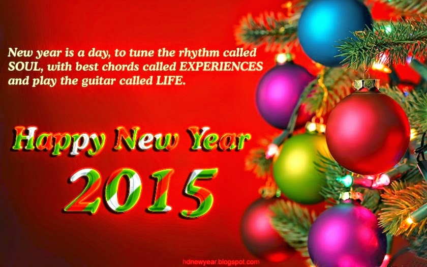 Best OF Happy New Year Poetry 2015