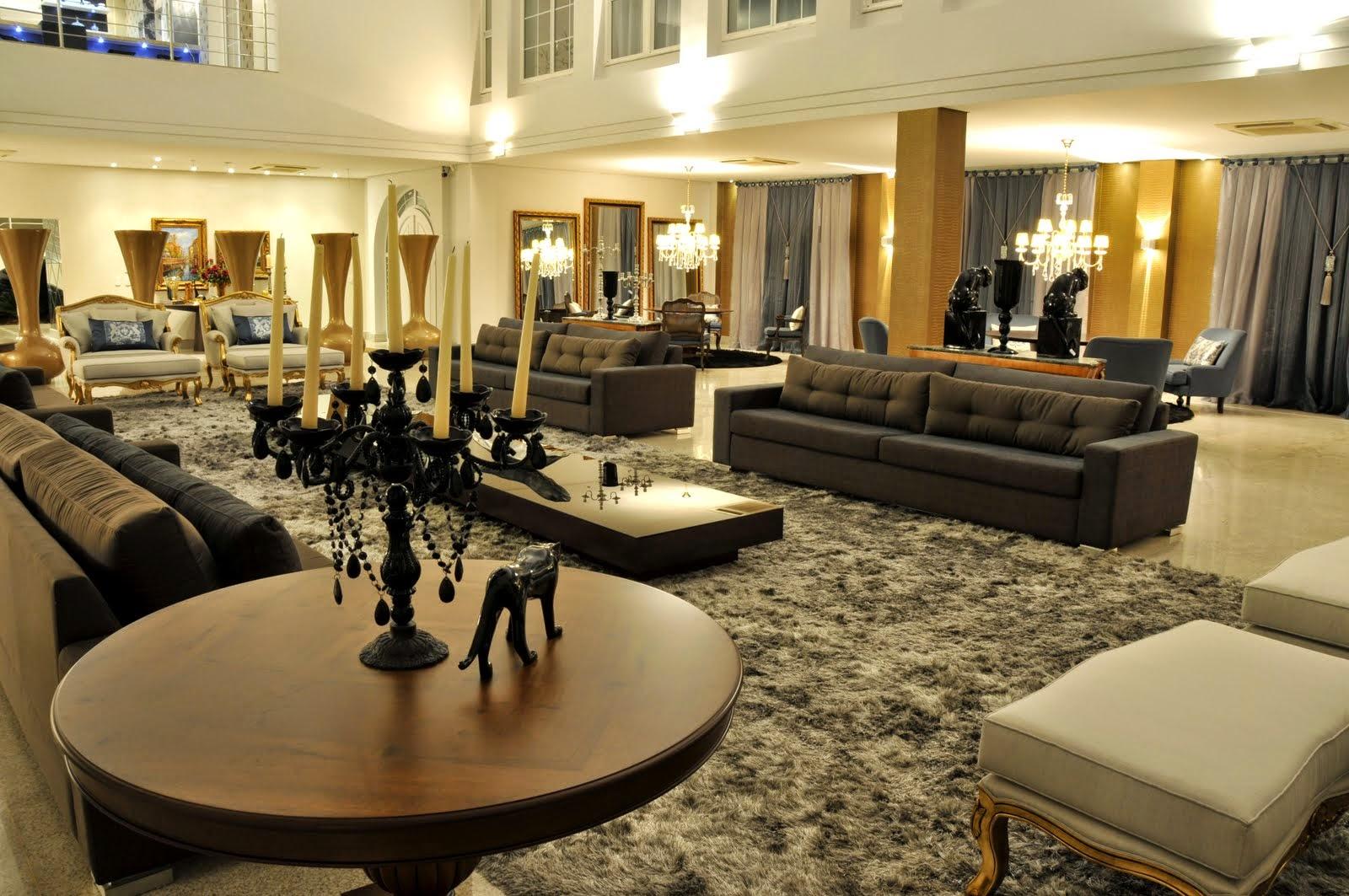 Decoracao De Sala Luxo ~ Decora Interi  Decoração de Salas Super Luxo, um luxo !!