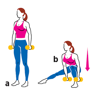Alternating Lateral Lunge all fitness