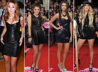modelos de vestidos de couro
