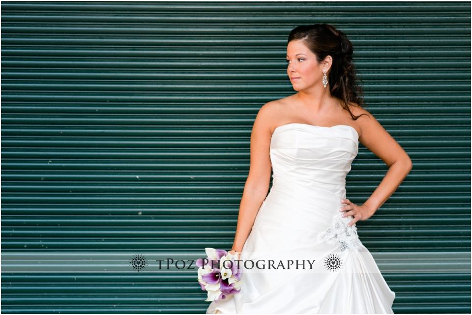 Sports Legends Museum Wedding Photos Bride