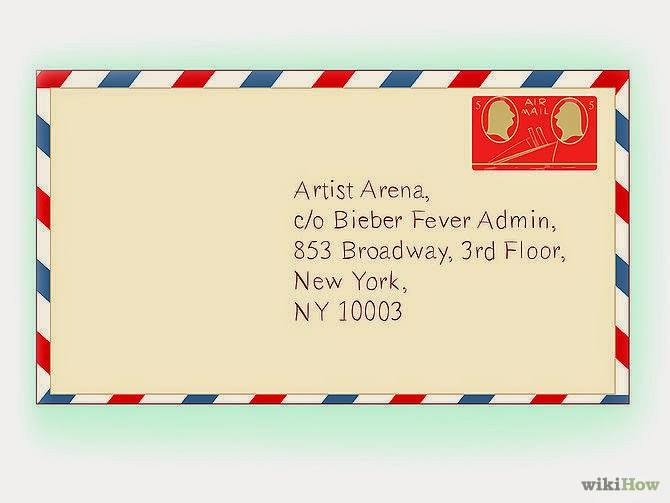 How to contact justin bieber justin bieber beliebers army for 1633 broadway 3rd floor new york ny 10019