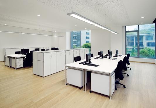 Cymisa iluminaci n en oficinas for Iluminacion oficinas modernas