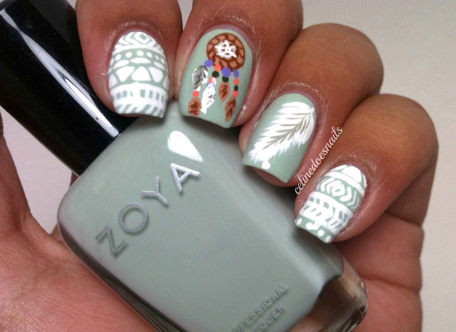 The Astounding Dreamcatcher nail designs Digital Imagery