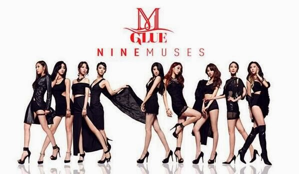 9MUSES are as sexy as they can be on their 'GLUE' MV!