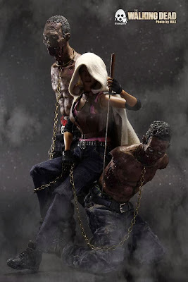 AMC The Walking Dead - Michonne & pet action figure
