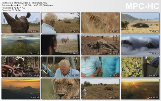 BBC|África|6/6|HD|720p|Ingles|Sub Lat-Eng|Mega|
