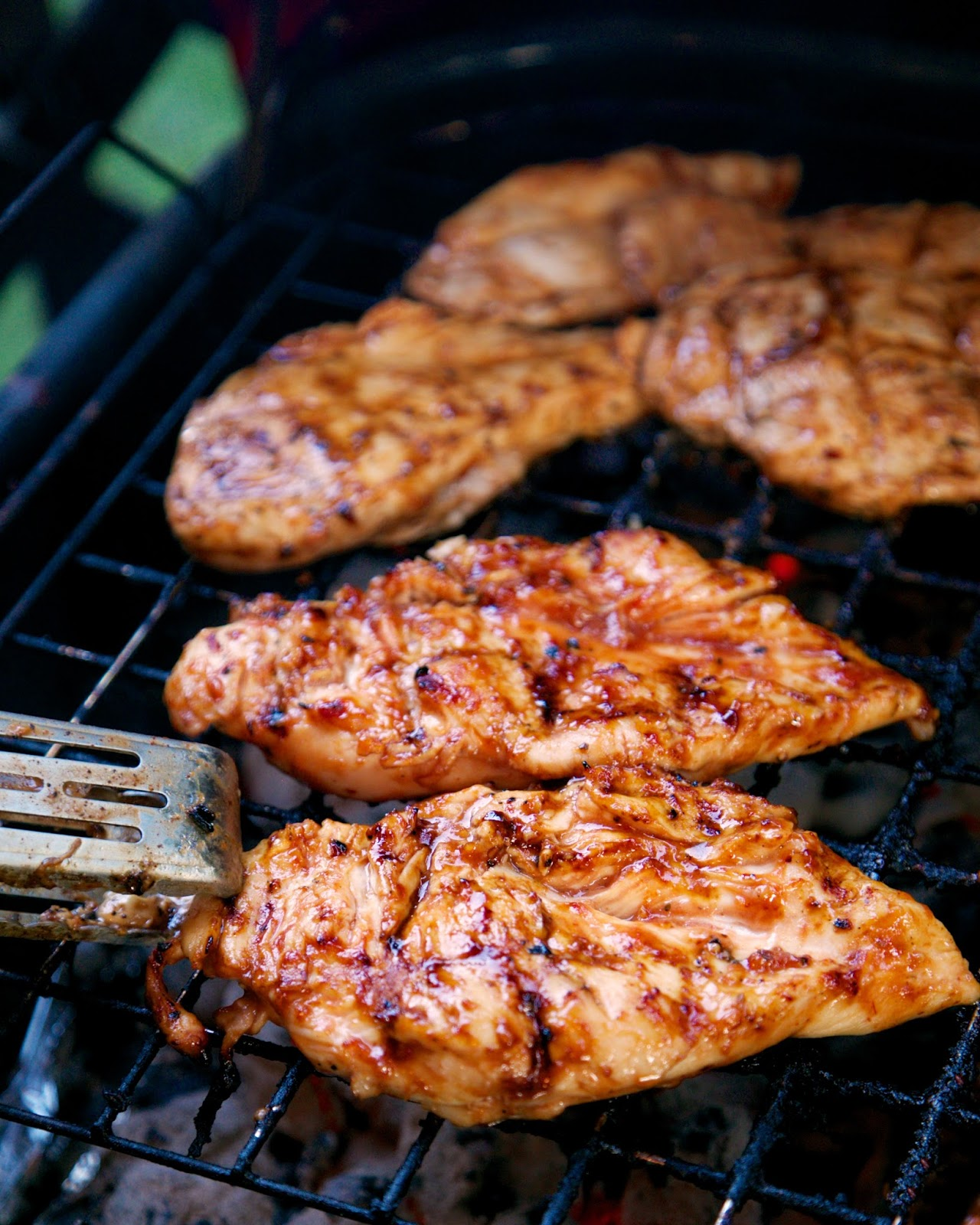 3 ingredient Italian BBQ Chicken