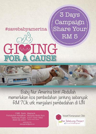 #SaveBabyAmerina