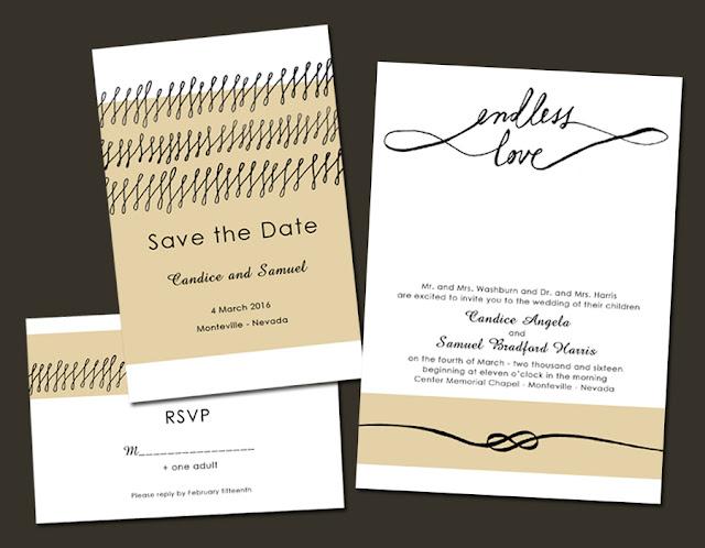 am an artist lds wedding invitations