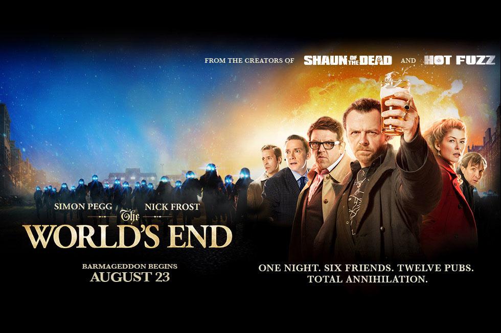 Escrito en el viento: Trailer de The World's End
