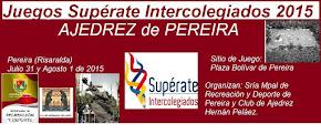 Juegos Supérate Intercolegiados 2015 Pereira