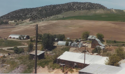 Marlene Terry's grandfather's homestead