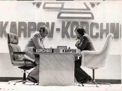 Le championnat du monde d'échecs 1978 à Baguio City entre Karpov et Korchnoi - Photo © Chess & Strategy