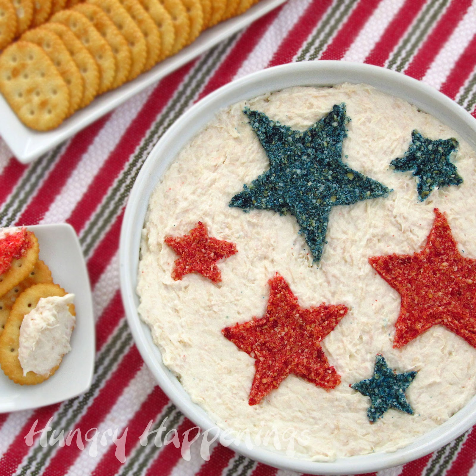Hungry Happenings: How to turn a plain dip into a patriotic