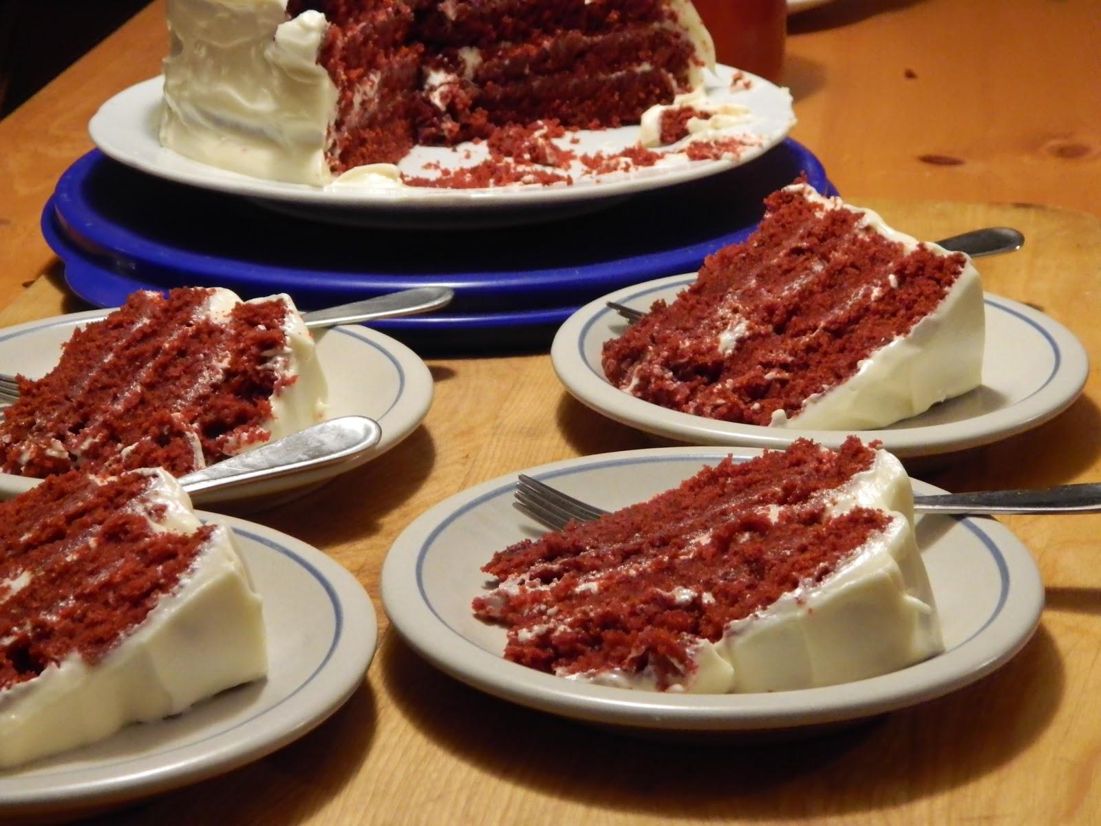 The Wednesday Baker Red Velvet Cake