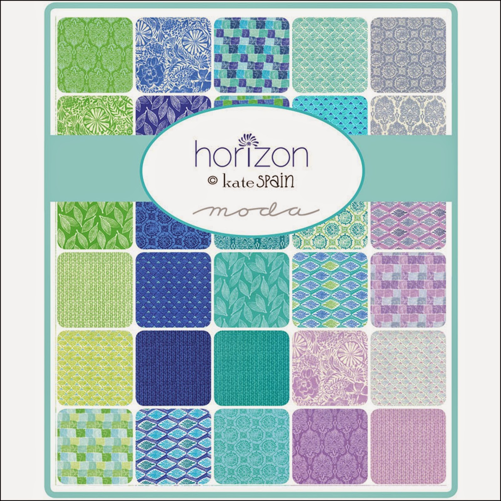 Moda HORIZON Quilt Fabric by Kate Spain for Moda Fabrics