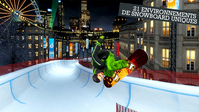 snowboard jeux party winter game